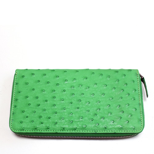 OSTRICH ZIPUP-WALLET 8412 OLIVE