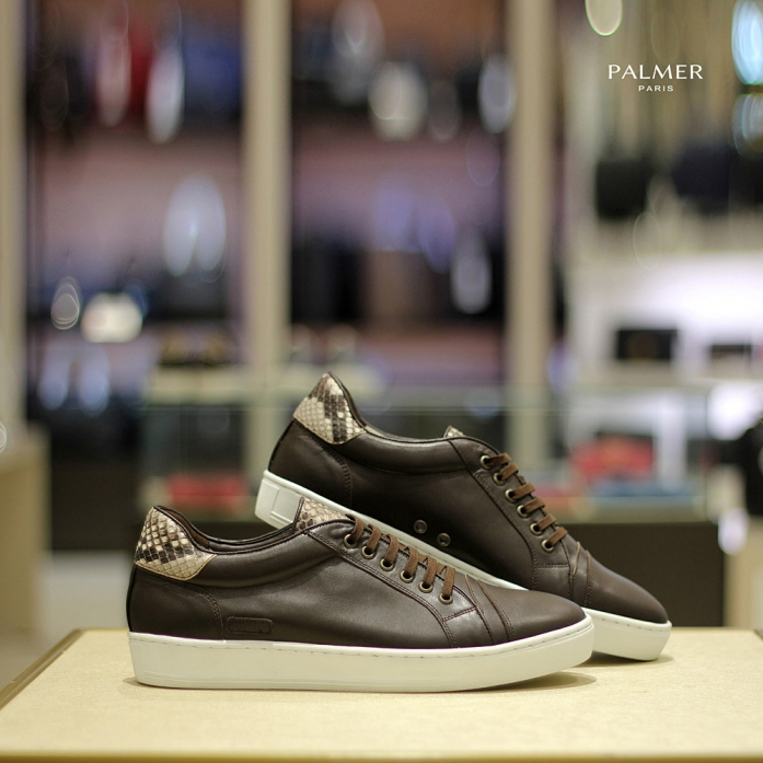 PALMER P50 / Sneakers / PYTHON / DARKBROWN / Man