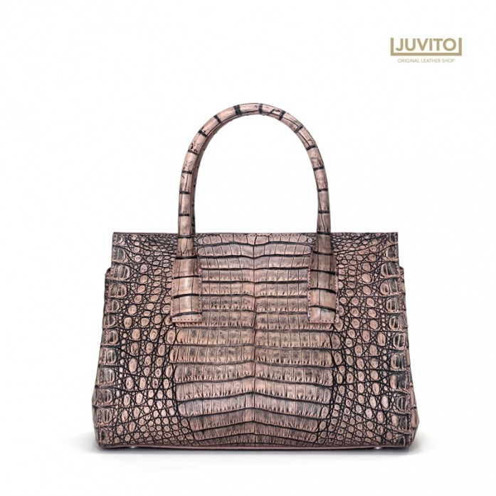HENG LONG / CROCODILE BAG / Antique PINK MATTE / HENG LONG BELLY BAG