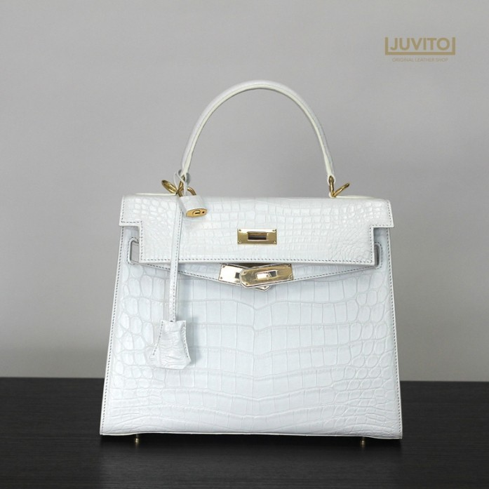 HENG LONG / CROCODILE BAG / WHITE / 28 SIZE / CRO4600