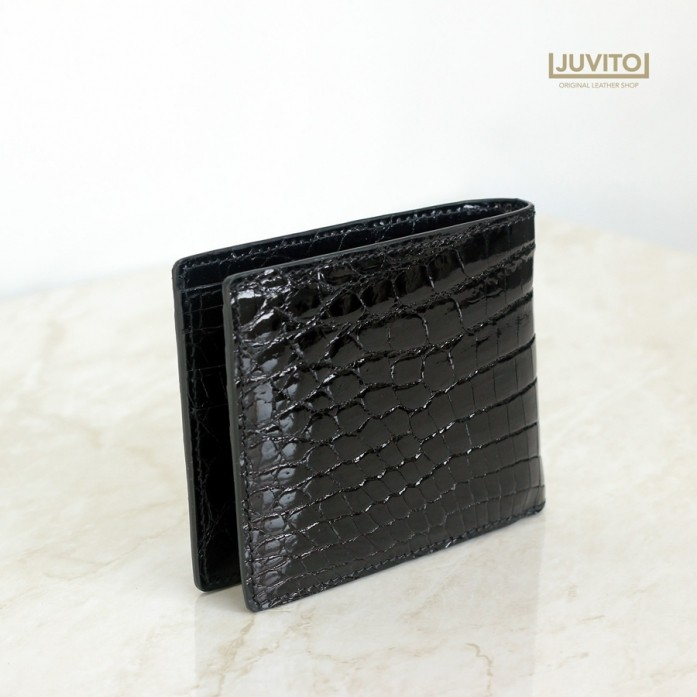 CROCODILE S-WALLET / BLACK / AB7933